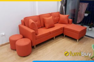sofa vang ni co tua lung va nem roi tien loi fb3720