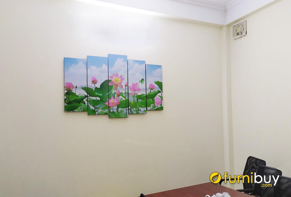 Hình ảnh Tranh hoa sen tặng thầy cô ngày nhà giáo Việt Nam