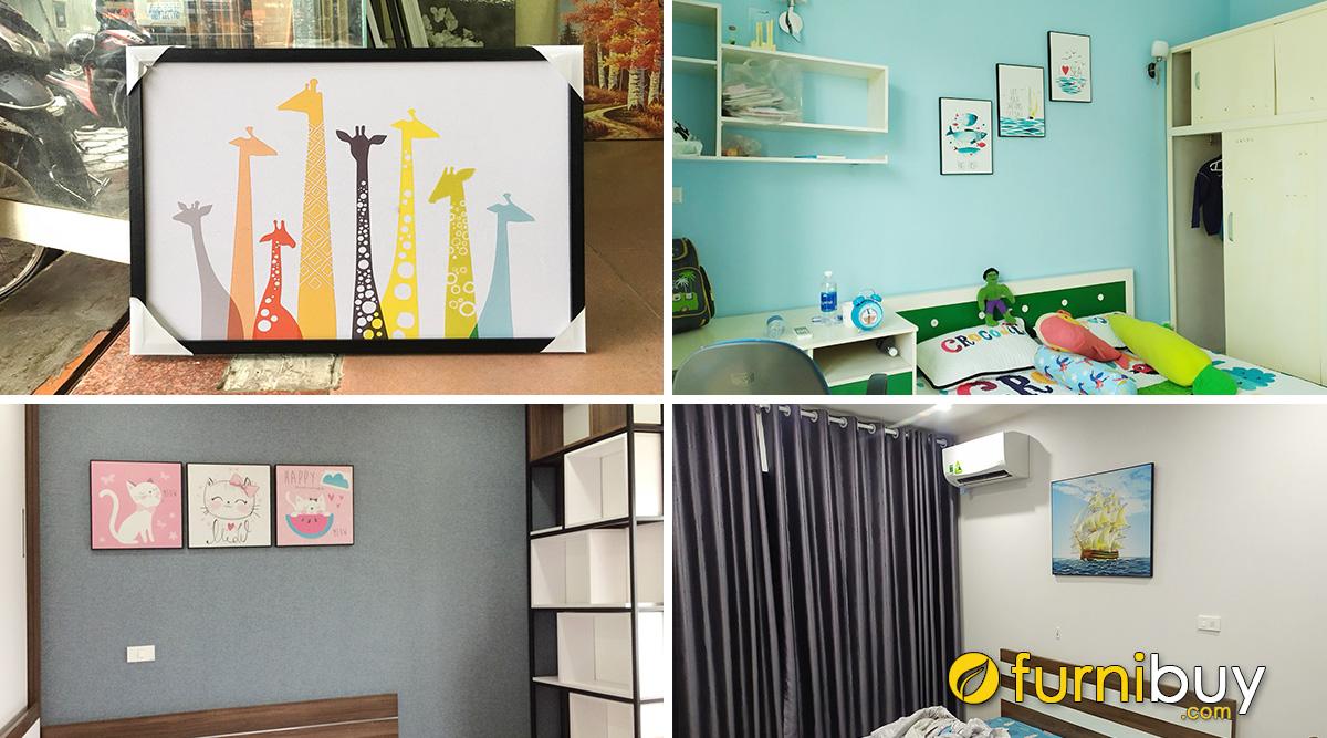 Hình ảnh Chọn Tranh Treo Phòng Ngủ Trẻ Em: Bé Trai, Bé Gái Chuẩn Đẹp!