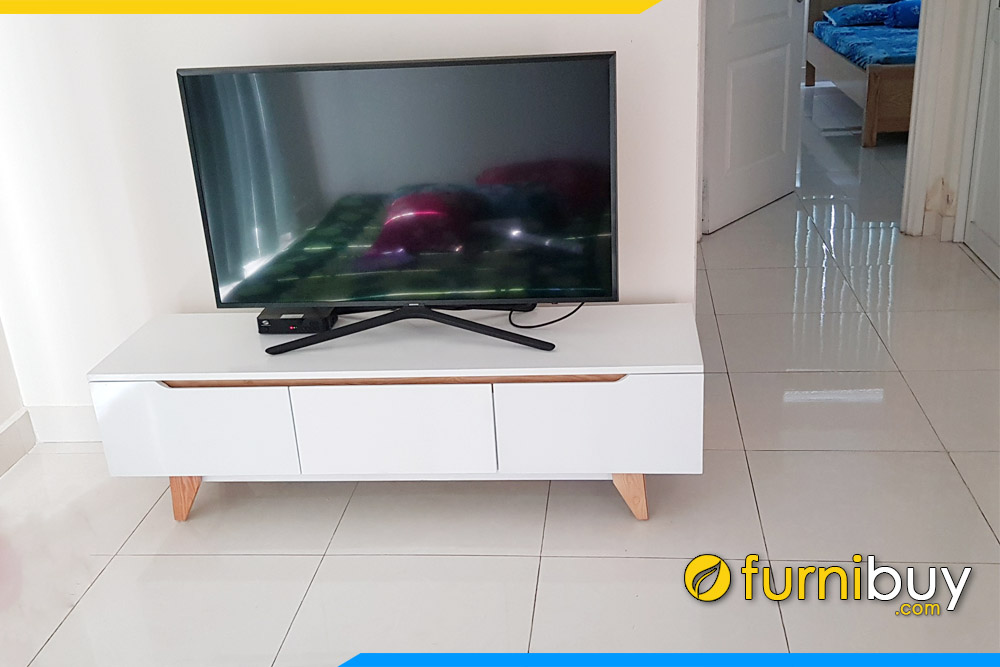 Hình ảnh Kệ tivi phòng khách nhỏ đẹp FBK011