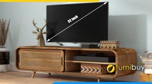 Chọn kích thước kệ tivi 32 inch phù hợp