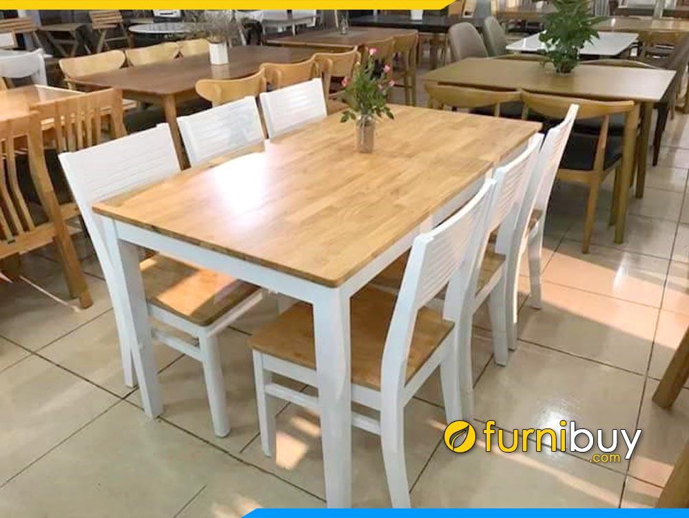 Bàn ghế ăn cherry Hà Nội đẹp giá rẻ