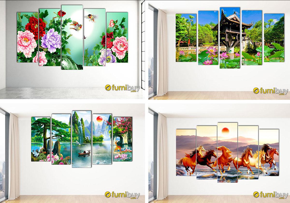 Hình ảnh Các mẫu tranh treo tường giá dưới 2 triệu đẹp và ý nghĩa