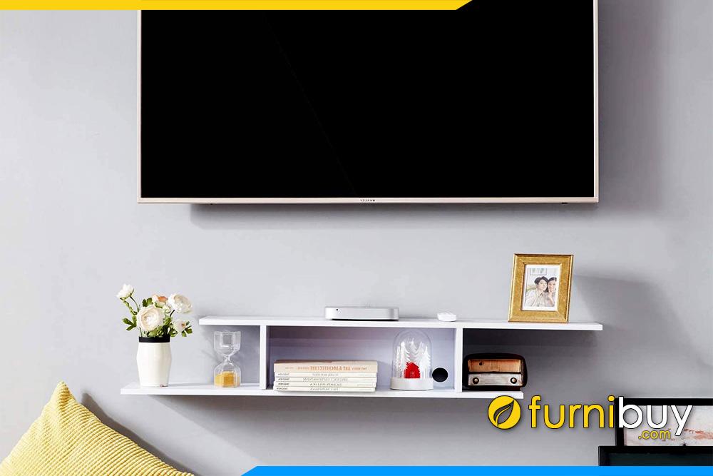 Mẫu kệ tivi 1m6 treo tường nhỏ đơn giản