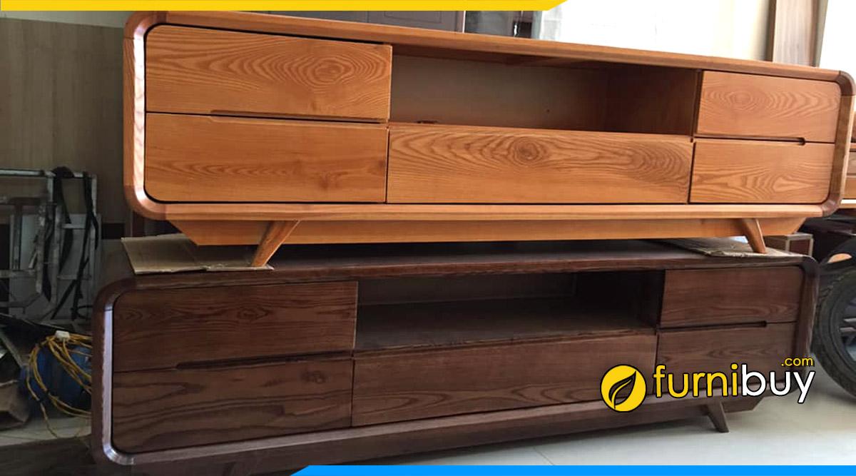 Địa chỉ bán kệ tivi gỗ sồi giá rẻ Hà Nội