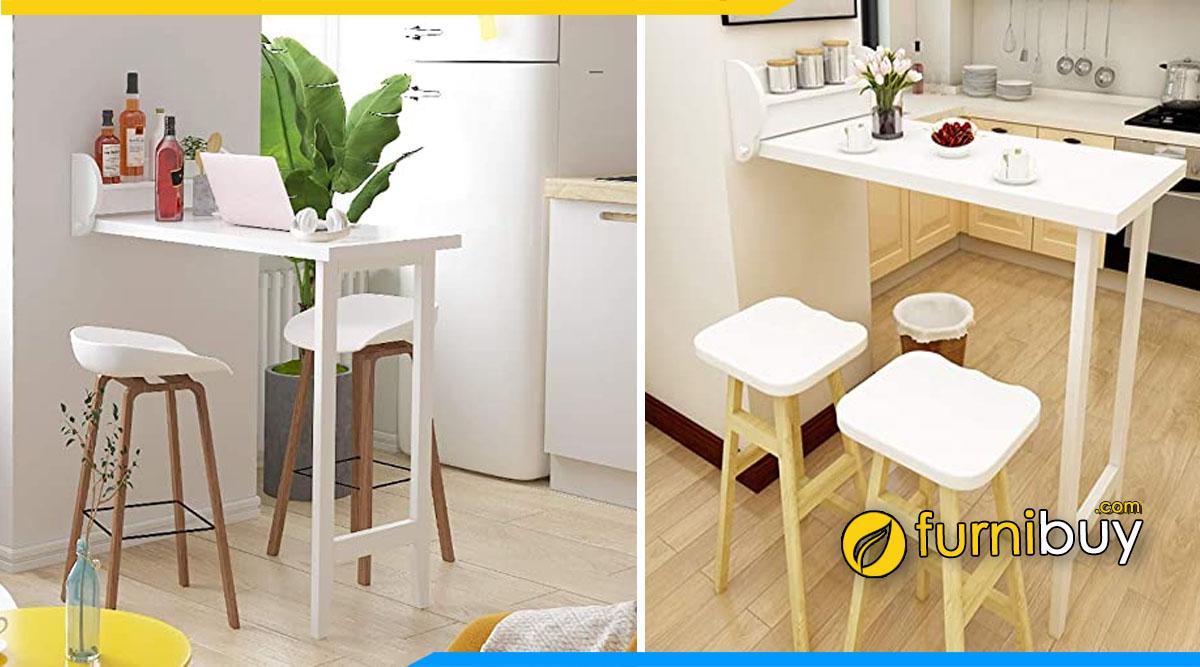 Hình ảnh Mẫu bàn ghế ăn thông minh đẹp