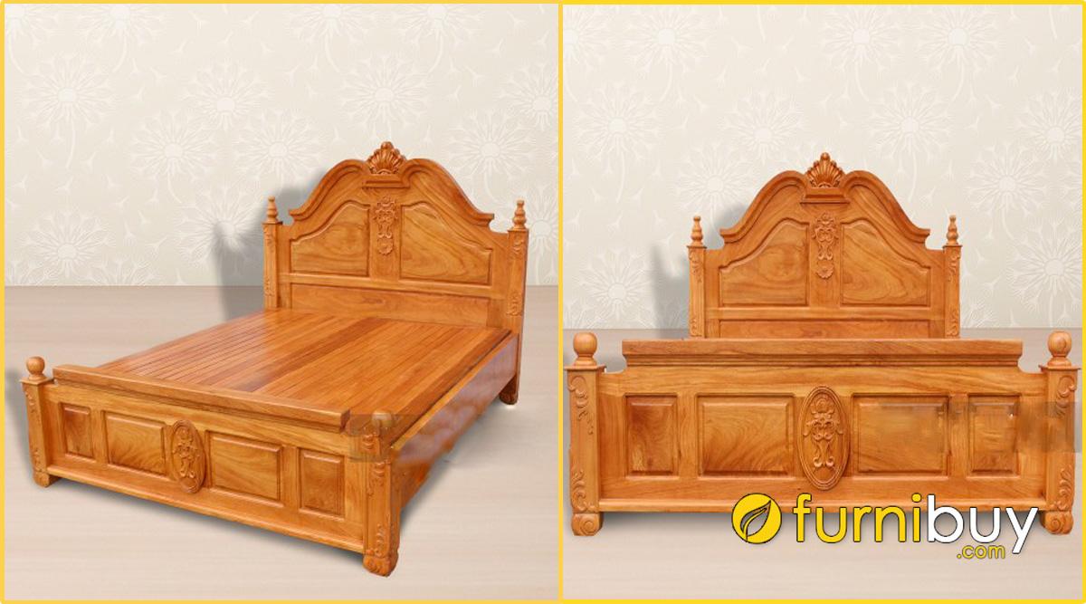phong cách mẫu mã giường gỗ gõ đỏ trên thị trường hiện nay