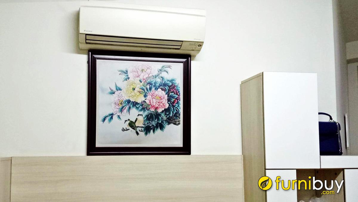 Hình ảnh Tranh treo tường phòng ngủ đẹp ý nghĩa phong thủy tốt lành