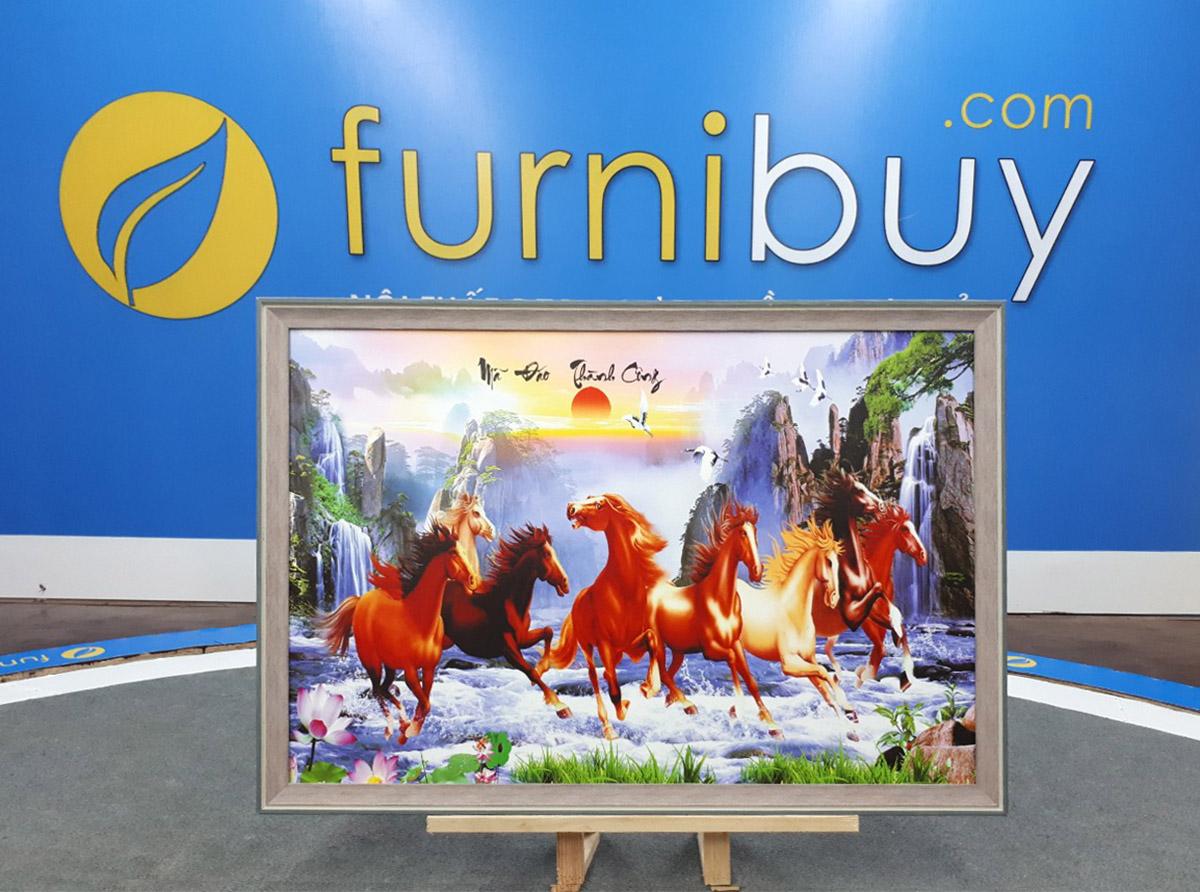 Hình ảnh Tranh mã đáo thành công 1 tấm chụp tại xưởng Furnibuy