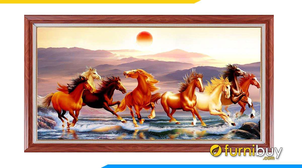 Hình ảnh Về Nhà Mới Treo Tranh Ngựa Có Ý Nghĩa Gì?