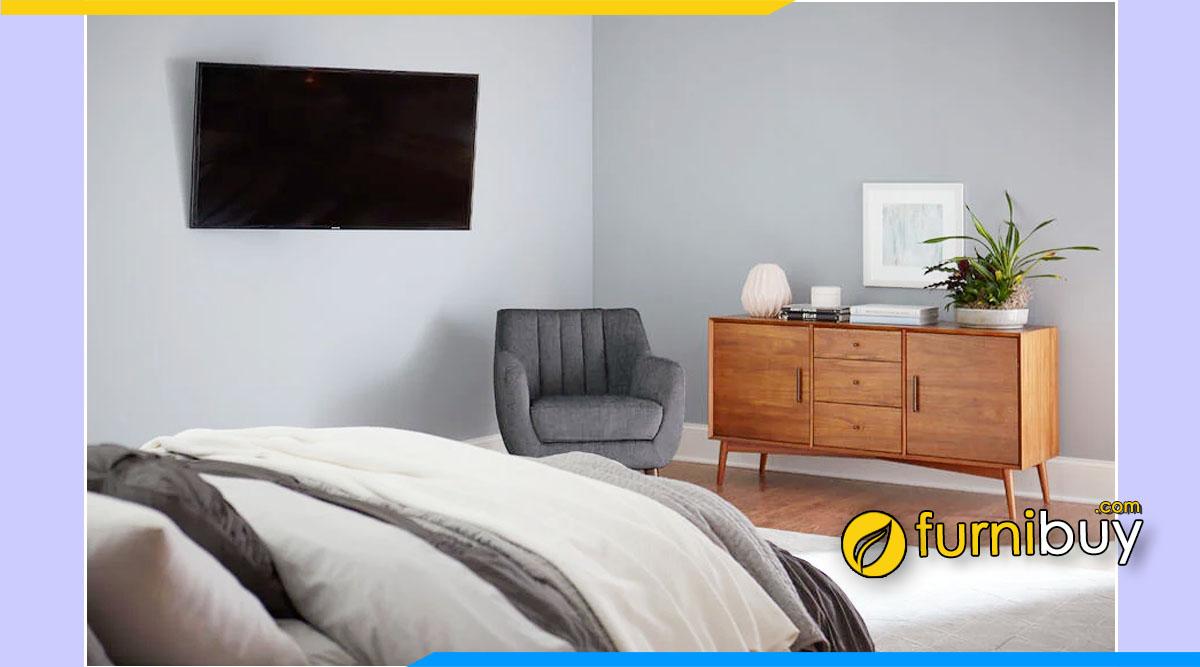 5 lưu ý đặt kệ tivi trong phòng ngủ nên biết