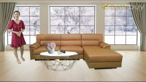Sofa da chu L021001