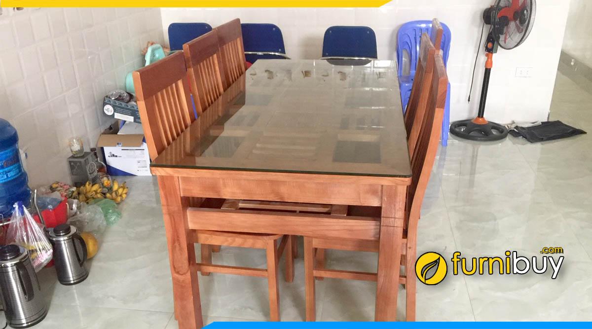 Bàn ăn 6 ghế giá rẻ Hà Nội mua ở đâu
