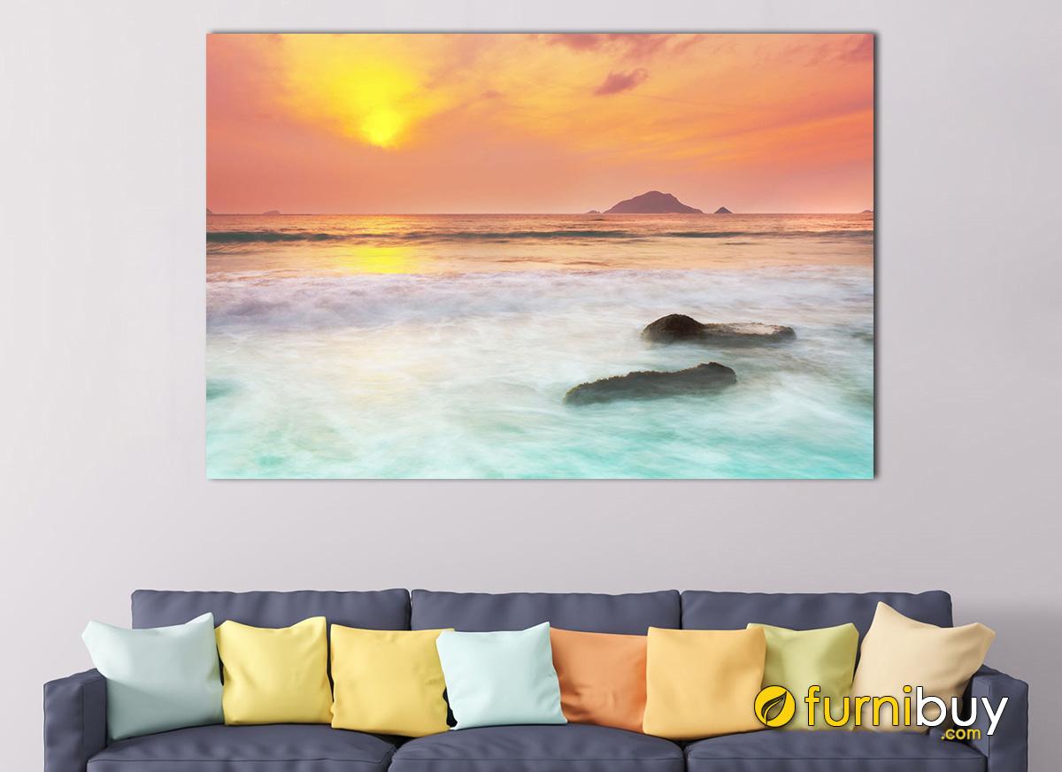 Hình ảnh Bức tranh cảnh biển Côn Đảo đẹp mơ mộng