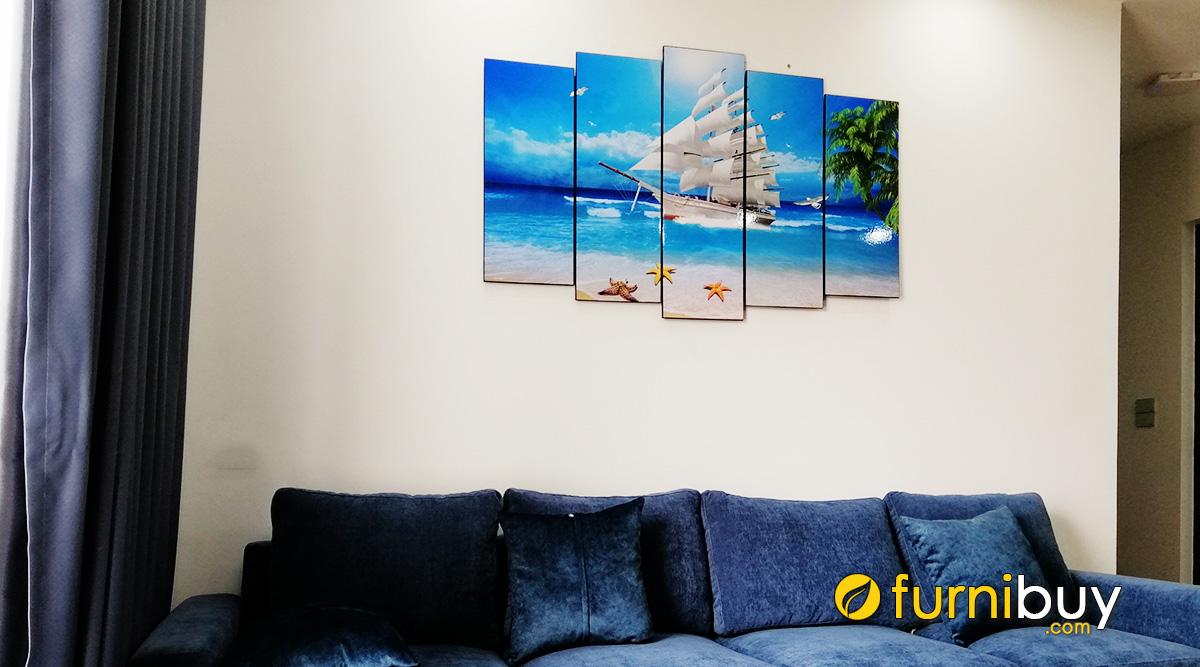 Hình ảnh Cách Treo Tranh Thuận Buồm Xuôi Gió Hợp Phong Thủy Chuẩn Nhất!