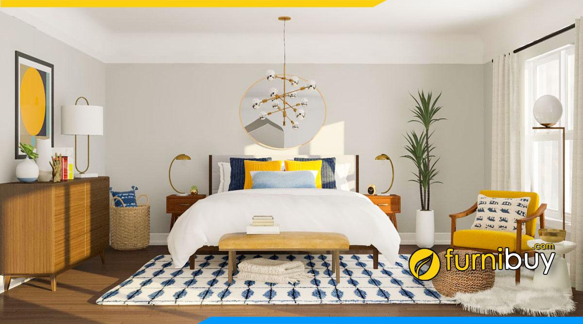 Chọn kích thước kệ tivi phòng ngủ chuẩn