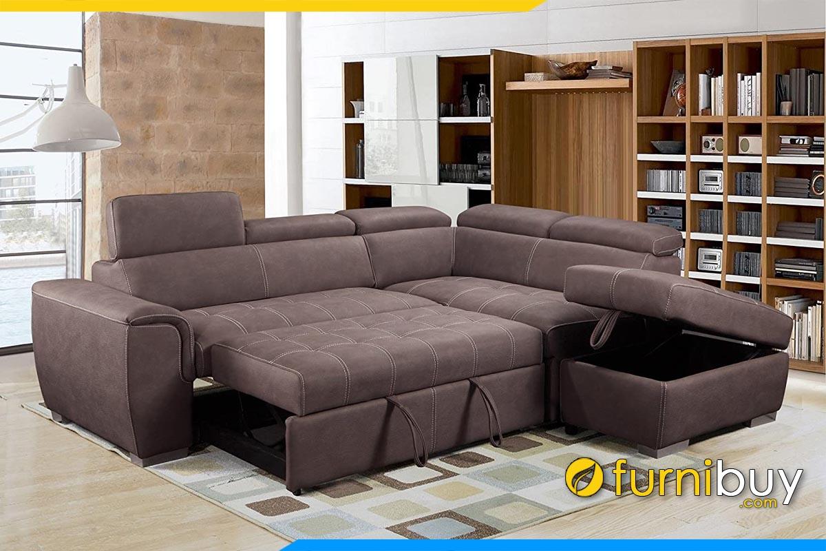 ghe sofa bed dang goc ke phong khach