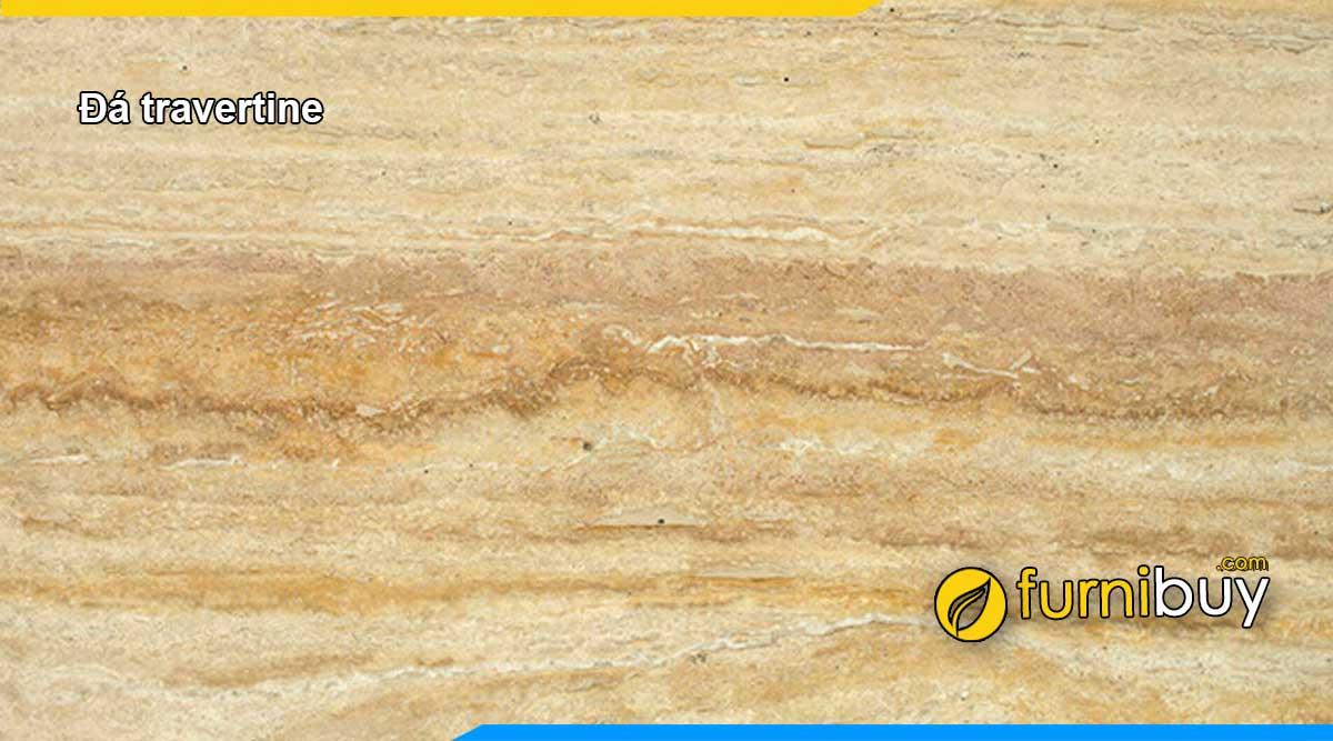 Hình ảnh mặt đá Travertine