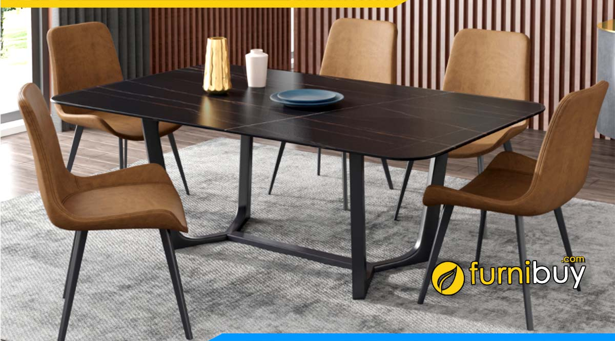 Loại bàn ghế ăn chữ nhật được ưa chuộng
