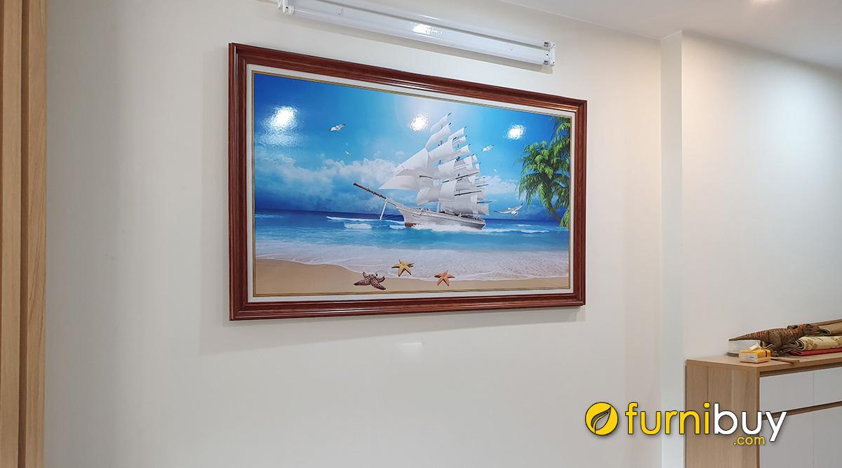 Hình ảnh Mua Tranh Thuận Buồm Xuôi Gió Giá Rẻ Hà Nội Ở Đâu Đẹp + Uy Tín?