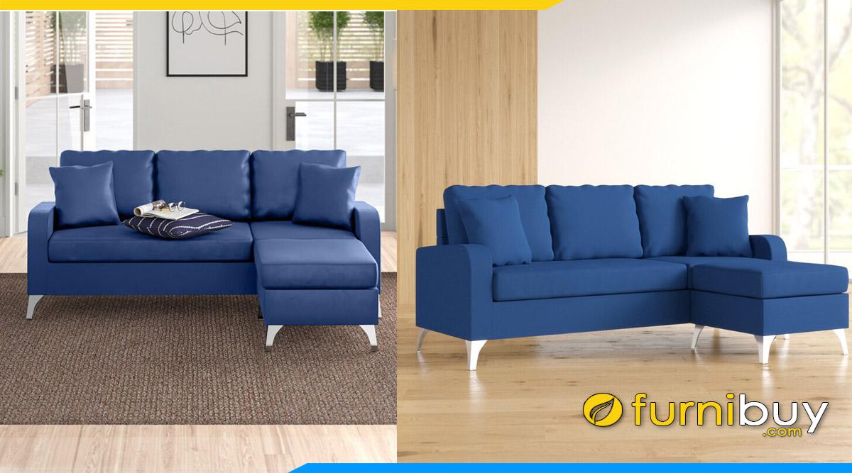 sofa phong khach nho xinh dang chu l