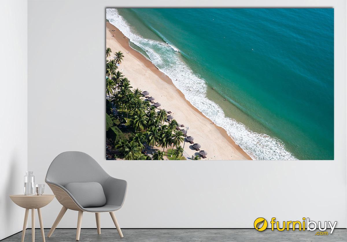 Hình ảnh Tranh chủ đề biển cả treo tường