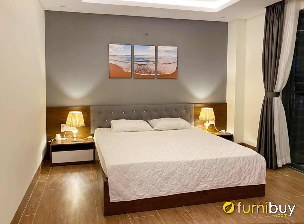 Hình ảnh Tranh chủ đề biển treo phòng khách sạn đẹp