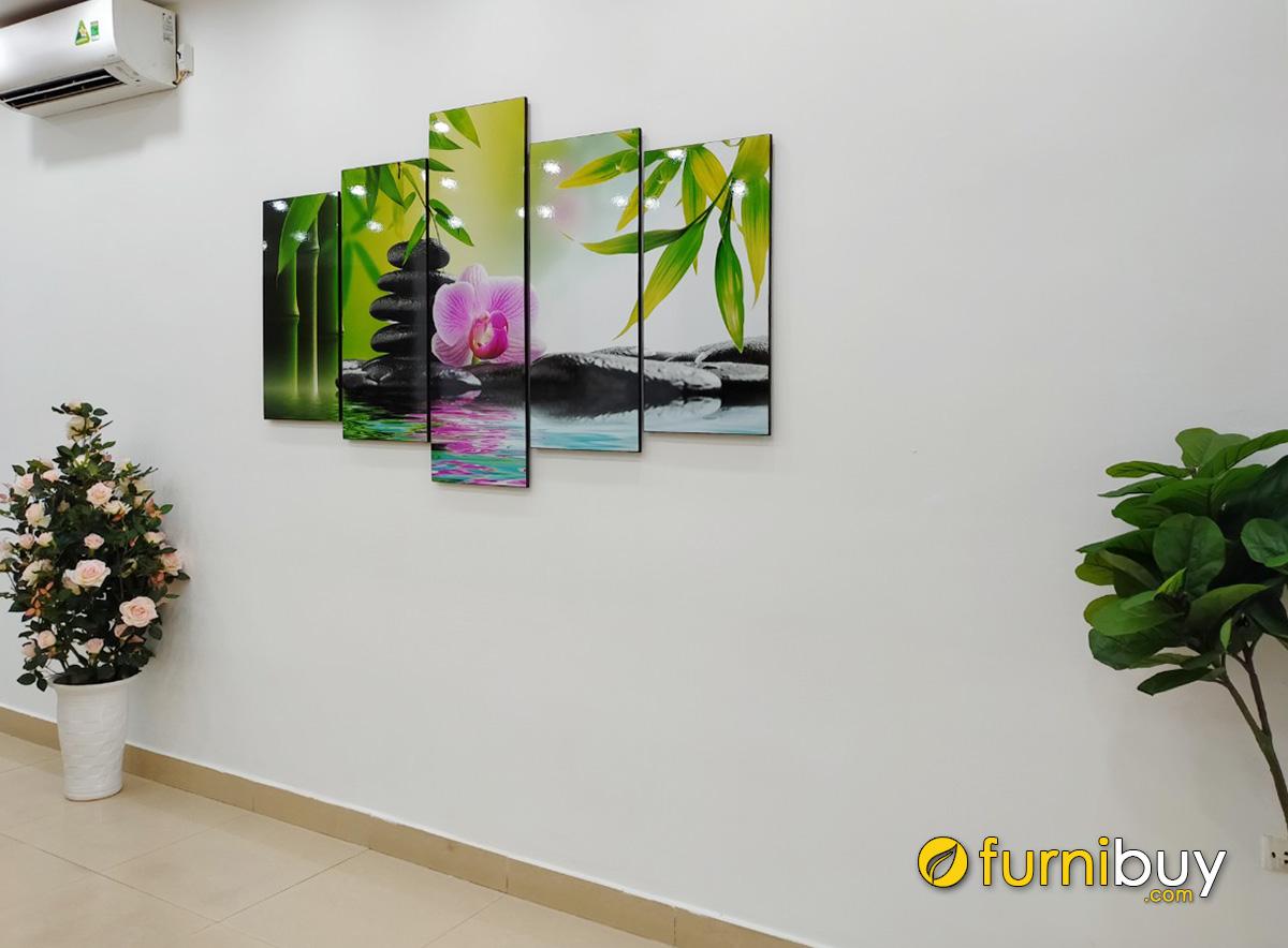 Hình ảnh Tranh đẹp treo tường spa nhà khách