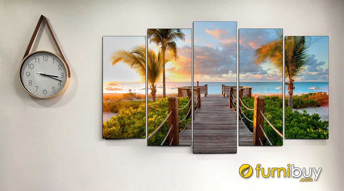 Hình ảnh 50+ Tranh Phong Cảnh Biển Treo Tường Đẹp Nổi Tiếng Nhất!!!