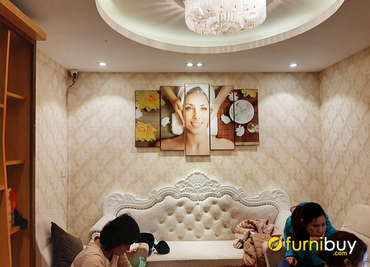 Hình ảnh Tranh trang trí tường spa đẹp sang trọng