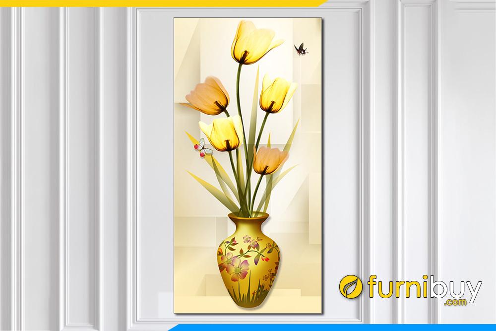 Tranh binh hoa phong thuy treo tuong tai loc xray amia 1431