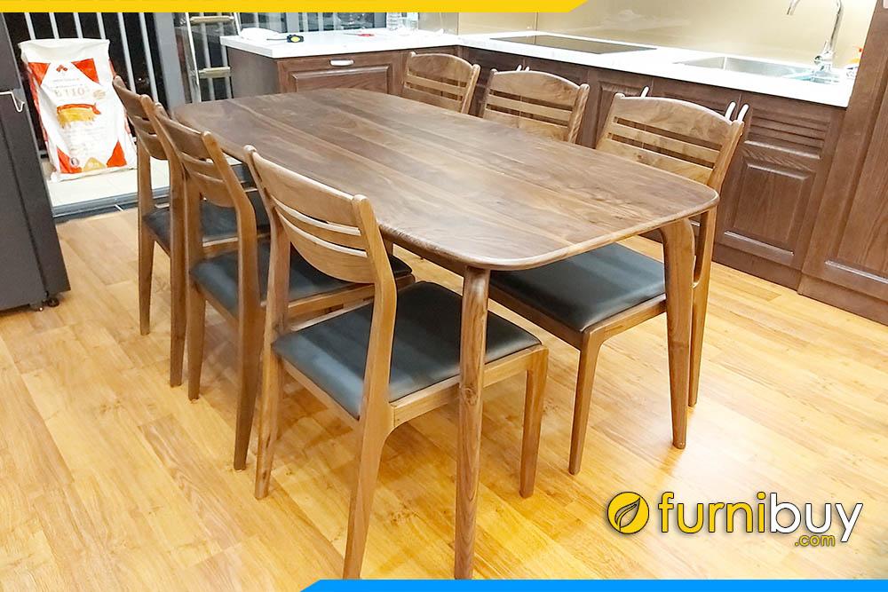 Báo giá bàn ăn gỗ sồi 6 ghế năm 2021