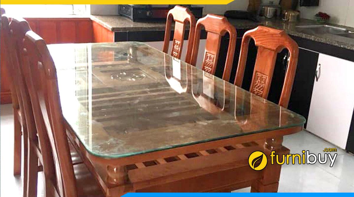 Bộ bàn ăn 6 ghế giá rẻ nên mua không?