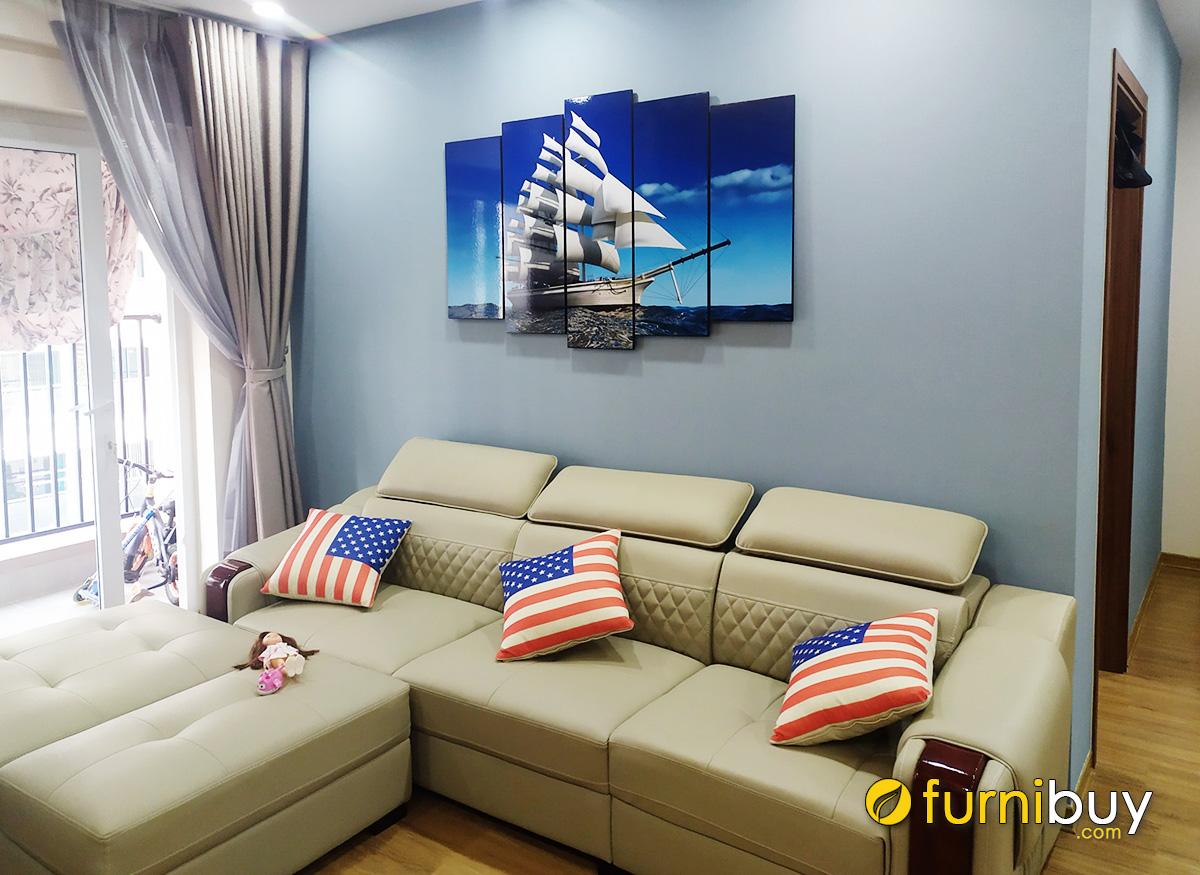 Hình ảnh Bộ tranh thuận buồm xuôi gió mừng Tết cho Sếp treo tường phòng khách