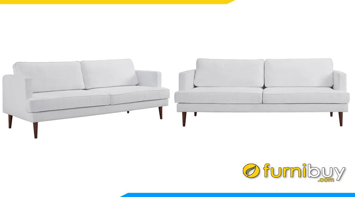 ghe sofa vang 2 cho ngoi mau trang