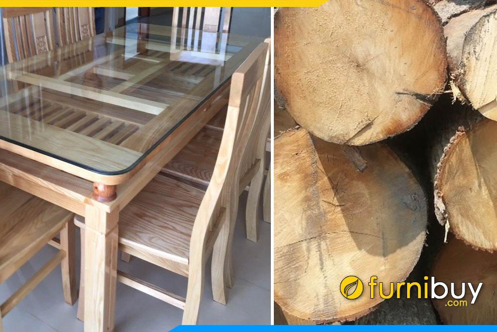 Lý do bộ bàn ăn 6 ghế gỗ sồi nga được ưa chuộng