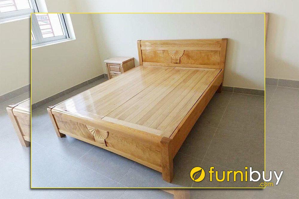 Giường ngủ đôi m8 cho nhà phố