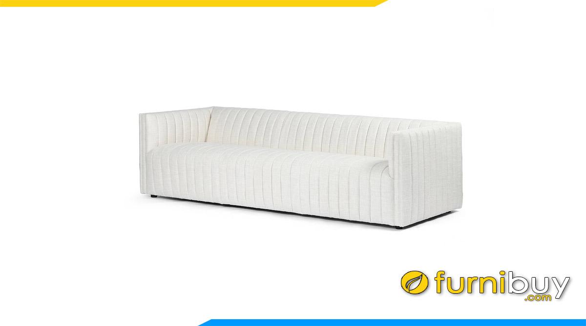 sofa bang dai boc ni mau trang