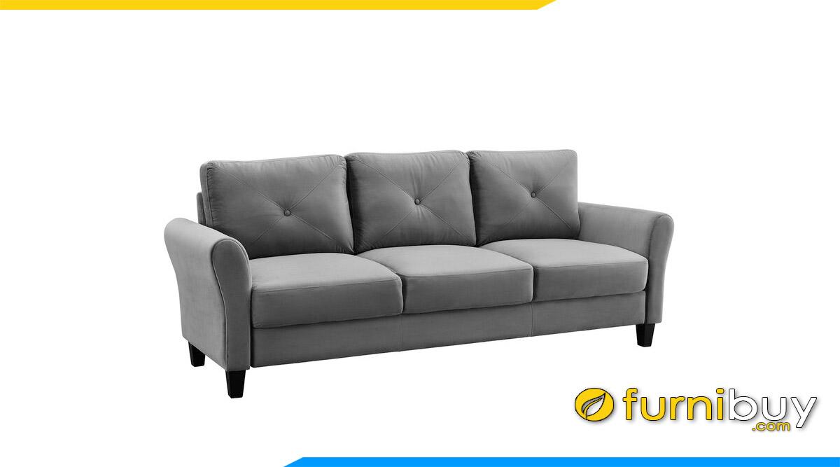 sofa vang hien dai don gian