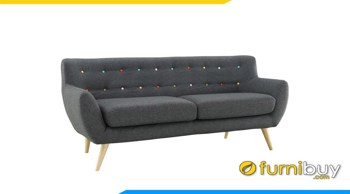 sofa vang mau xam dinh cuc sac mau