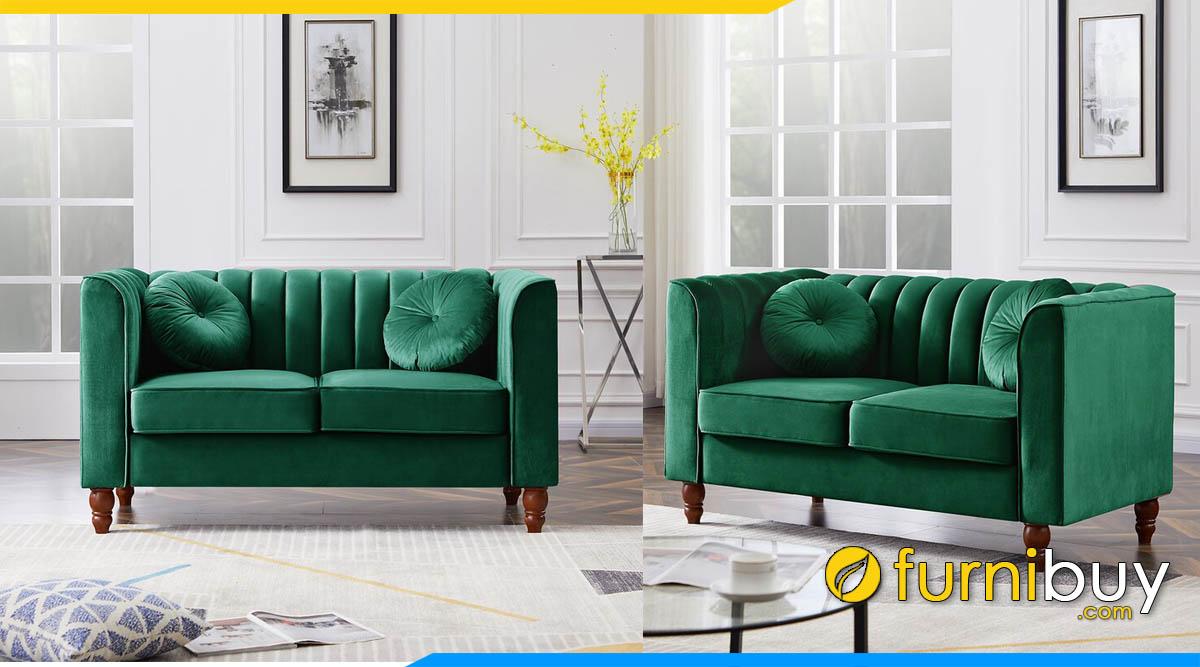 sofa vang mini nho xinh 2 cho ngoi