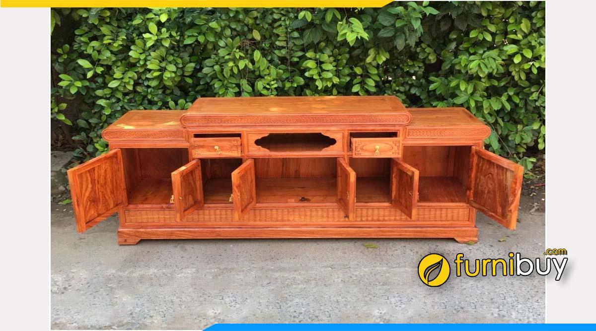 tủ tivi gỗ hương đá mua ở đâu Hà Nội