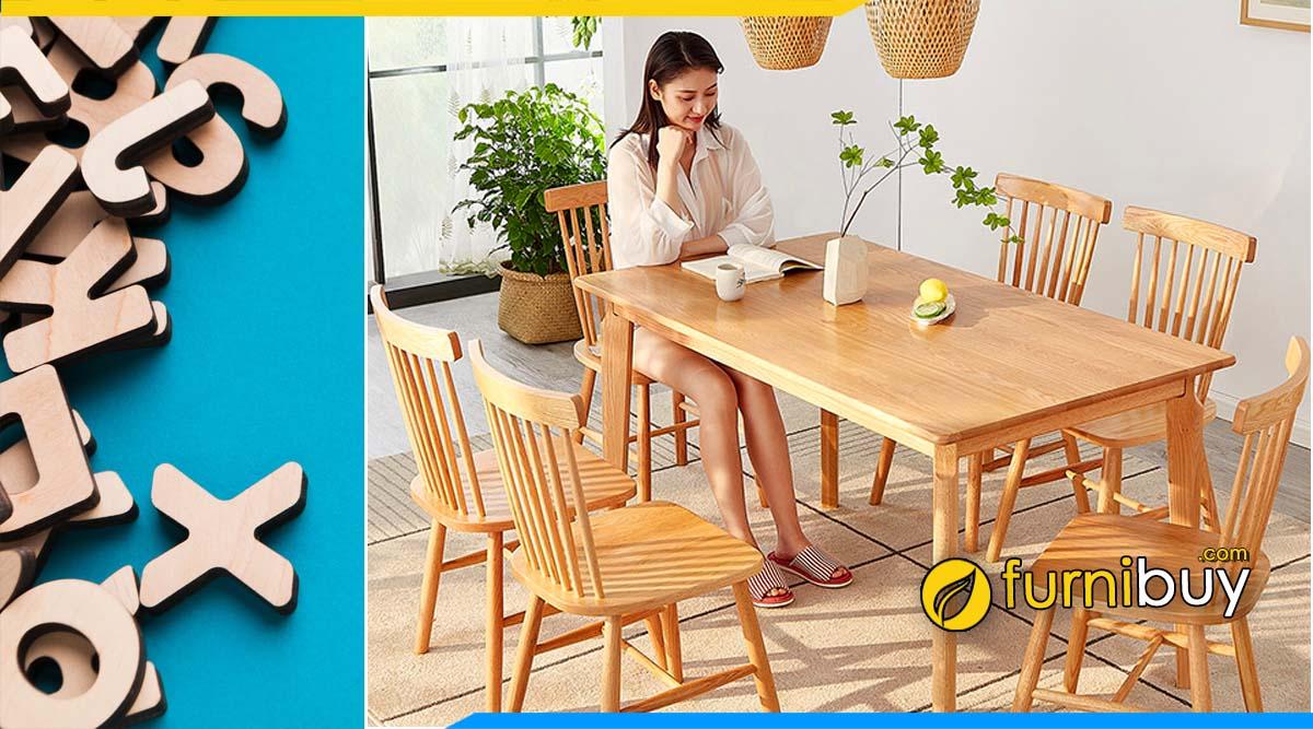 Cập nhật xu hướng bàn ăn 6 ghế hiện đại Hot Trends 2021