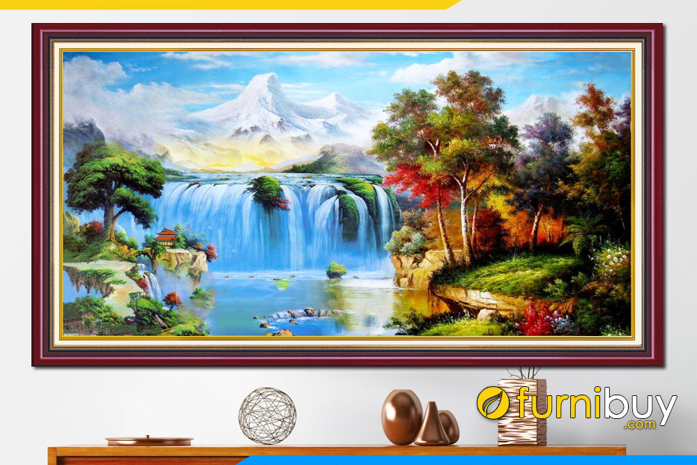 Tranh phong thuy dep son thuy trung quoc amia 679