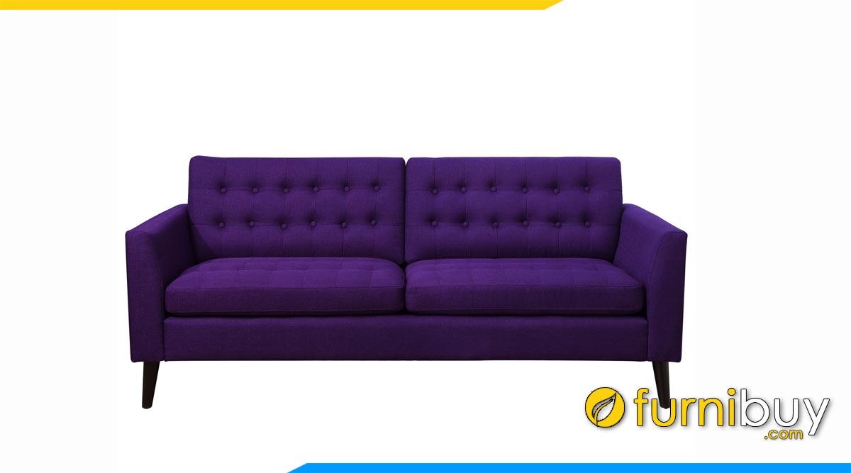 sofa vang mau tim tham 2 cho ngoi