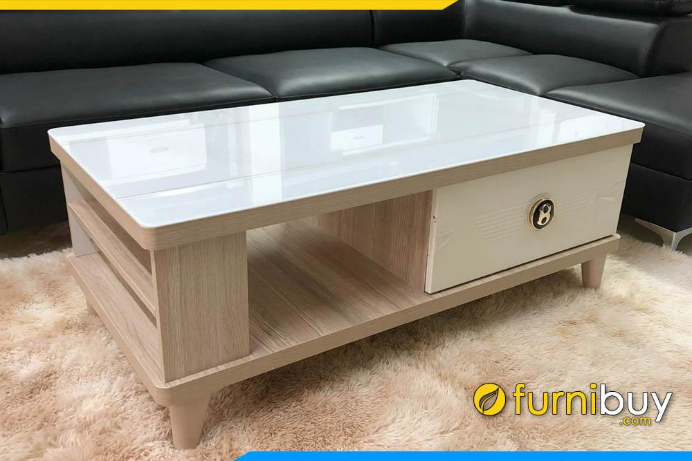 Bàn sofa gỗ phòng khách sang trọng FBBTR503