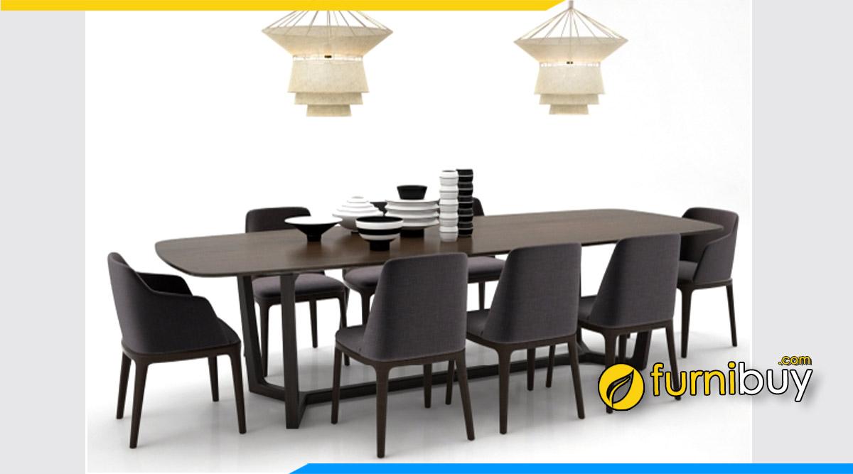Bộ bàn ăn hiện đại 1m8 cho phòng bếp rộng
