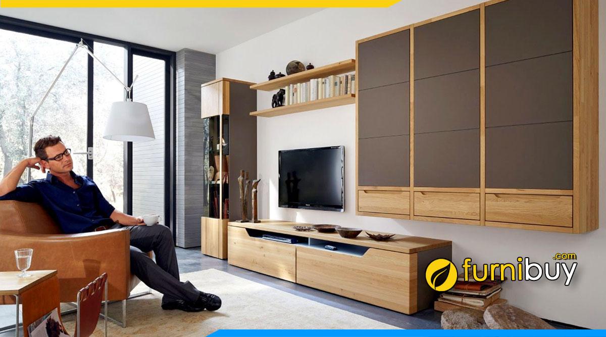 Chọn mua kệ tivi phòng khách rộng đẹp phù hợp