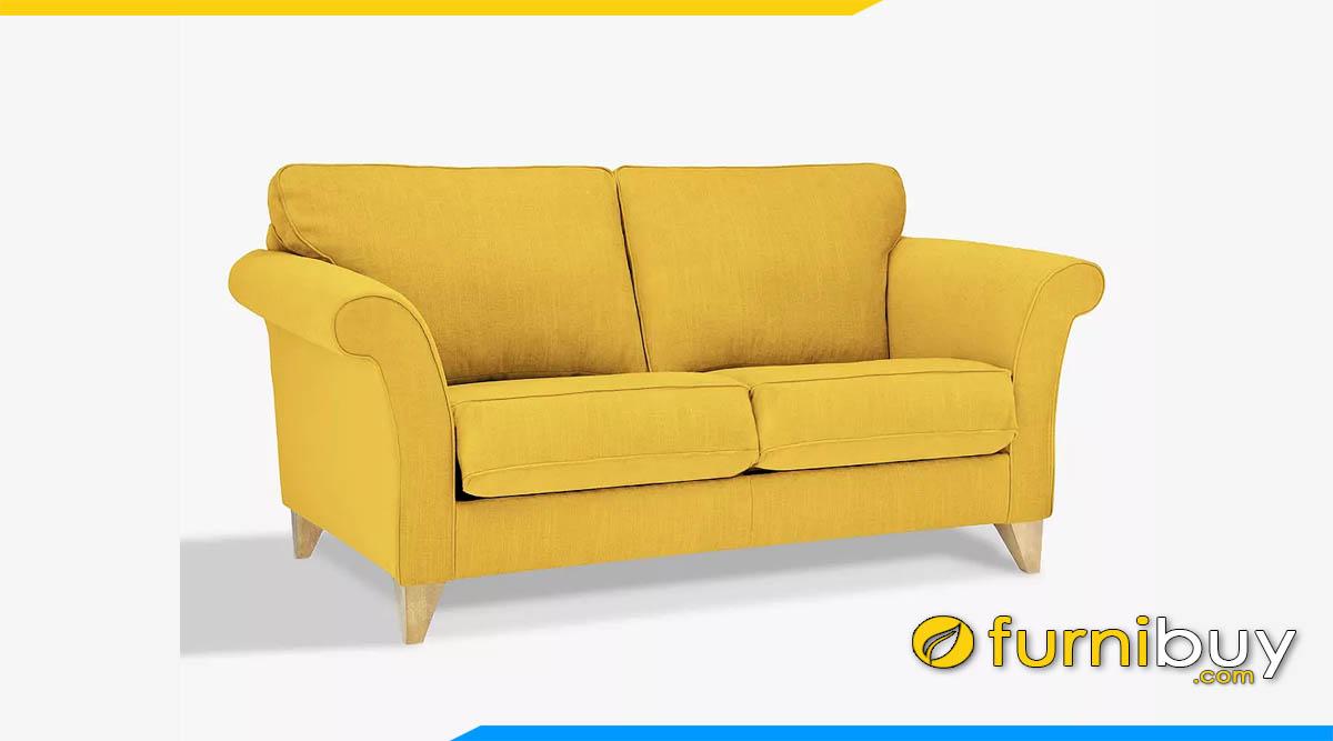 ghe sofa banh mau vang 2 cho ngoi