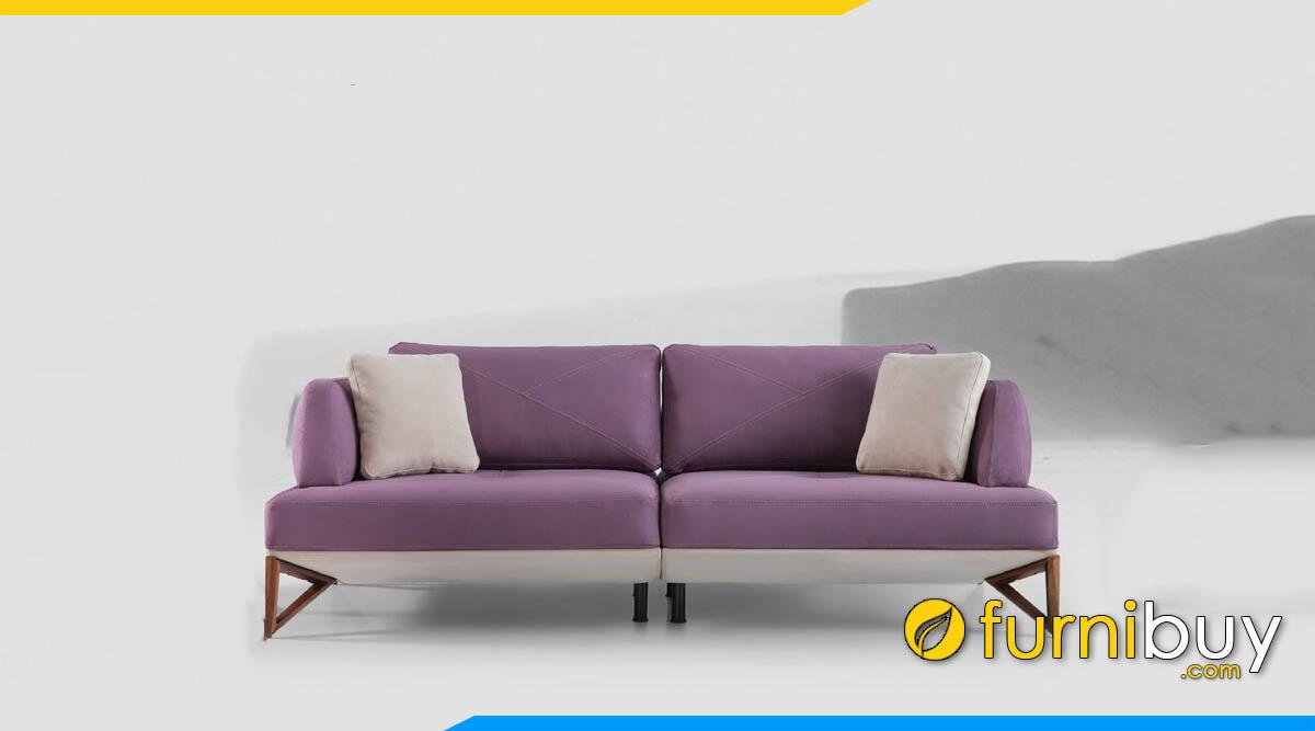ghe sofa vang 2 cho ngoi mau tim